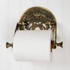 crown toilet fixture solid brass toilet paper holder bathroom