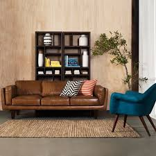 Light Colored Leather Sofa Decoration In Light Brown Leather Sofa With Stylish Light Brown