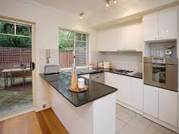 Small Narrow Kitchen Design U Shaped Kitchen Designs With Breakfast Bar Kitchen Pinterest