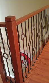 Radius Stairs by Baluster Stair Remodel Contemporary Iron Baluster Patterns
