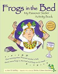 passover seder books frogs in the bed my passover seder activity book d koffsky