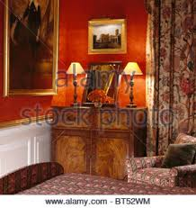 Red Curtains In Bedroom - large bedroom red curtains stock photos u0026 large bedroom red