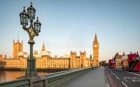 chambre du vide début de la matinée londres chambres du parlement pont de