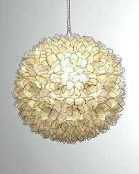 Flower Pendant Light Shell Pendant Lights Decorative Shell Lotus Flower Pendant Light