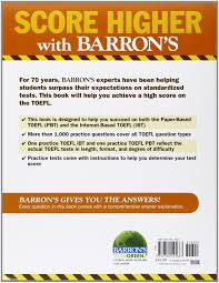 Toefl Integrated Writing Topics With Answers Practice Exercises For The Toefl 7th Edition Barron U0027s Practice