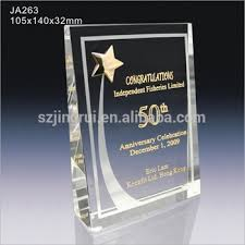 engraved anniversary gifts gold metal k9 engraved awards corporate anniversary