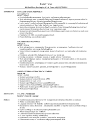 sle resume templates accountant trailers plus lodi localization manager resume sles velvet jobs