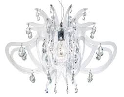 Clear Acrylic Chandelier Laser Cut Chandelier Innovative And Trendy Lighting