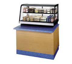 table top display cabinet 48 countertop self serve display case refrigerated federal crb4828ss