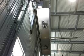 Air Curtains For Doors Dock Door Air Curtains 14 Foot Air Doors Powered Aire