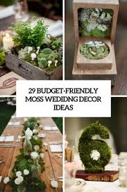wedding backdrop on a budget 29 budget friendly moss wedding décor ideas weddingomania