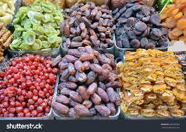 fresh dates fruit fresh dates dried fruit varieties stock photo 283508393