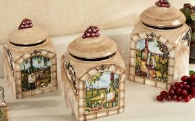 tuscan kitchen canisters tuscan kitchen canisters kitchen design