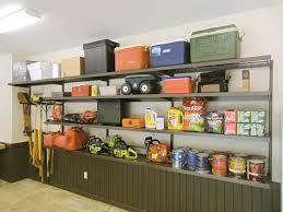 Garage Shelving System by Great Garage Storage System Ideas Atlanta Home Improvement