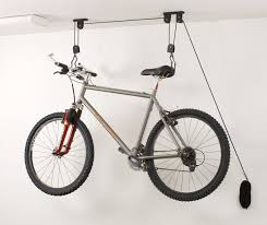 How To Build Garage Storage Lift by Racor Pbh 1r Ceiling Mounted Bike Lift Bike Storage Racks