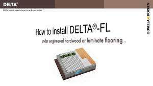 Vapor Barrier Basement Floor Laminate Delta Fl Premium Subfloor For Laminate Flooring In Basements