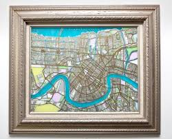 New Orleans Map by New Orleans Map Ellen Macomber