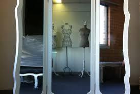 Tri Fold Mirrors Bathroom Vanity Tri Fold Mirror Vanity Likable Brigitte Tri Fold Vanity