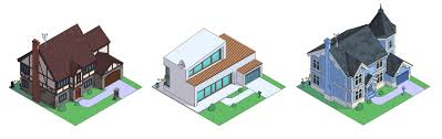 what the simpsons u0027 home would look like in different architectural