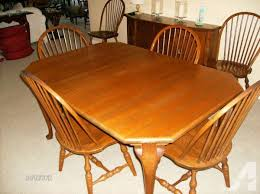 Dining Room Furniture Pittsburgh 1920s Inlaid Walnut Diningroom Table 6 Chairs Upper St Boulevard