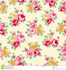 Shabby Chic Style Wallpaper by Shabby Chic Vintage Antique Rose Floral Wallpaper Stock