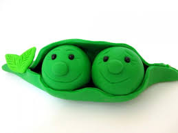 Two Peas In A Pod Ornament Two Peas In A Pod Wedding Cake Topper Polymer Clay 2561715