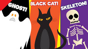 kids halloween clipart learn halloween vocabulary kids learning videos esl for kids
