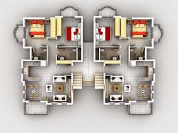 Modern Floor Plans For Homes 3d Modern House Plans Collection