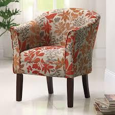 Milari Linen Chair Coaster Furniture Arcadia Barrel Accent Chair The Orange And