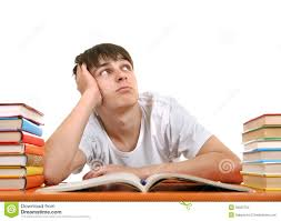 Student At Desk by Bored Student Stock Images Image 35592704