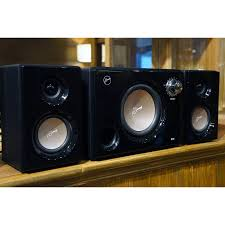swans home theater hivi swans m10 hifi 2 1 hi fi speakers kit black audiophonics