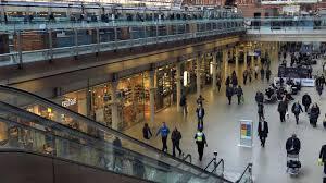 St Pancras Floor Plan St Pancras International Railway Station London Rail Station