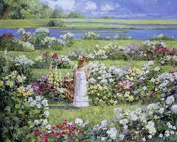 9 best garden paintings images on pinterest garden painting