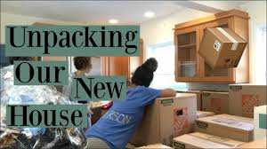 New House by Unpacking Our New House Youtube