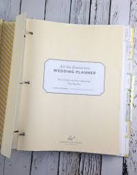 wedding planning notebook all the essentials wedding planner silver in the city