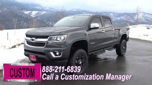 chevy colorado silver customized 2017 gray metallic chevy colorado youtube