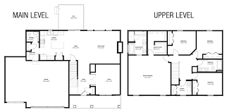 2 Story Floor Plan by Sibley Floorplan Hubbell Homes Building New Homes In Des