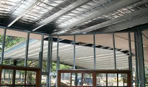 Span Tables For Pergolas by Boxspan Steel Rafters U0026 Purlins For Skillion Or Cathedral Roof