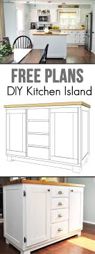 how to make your own kitchen island with cabinets how to build a diy kitchen island cherished bliss