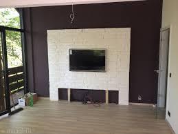 fernsehwand ideen wohndesign 2017 fantastisch tolles dekoration tv wand selber