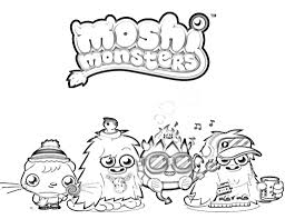 monster coloring pages coloring pages itgod
