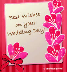 card for on wedding day best wishes things to wear