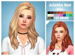 sims 4 blue hair juliette hair the sims 4 download simsdom