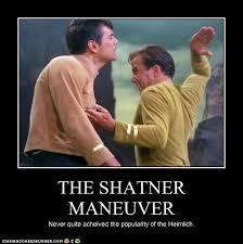 William Shatner Meme - the shatner maneuver set phasers to lol sci fi fantasy
