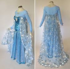 Light Up Costumes Light Up Frozen Elsa Cosplay Costume By Glimmerwood On Deviantart