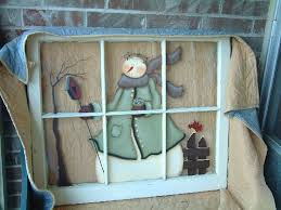 Primitive Christmas Window Decorations by 417 Best Painted Windows And Screens Images On Pinterest