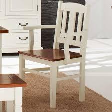 Esszimmerst Le Holz Mit Armlehne Stühle Weiß Landhaus Mxpweb Com