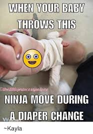 Baby Diaper Meme - lwhen your baby when your baby throws this othelilleprincesspalace