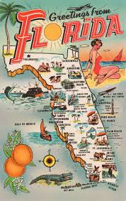 Map Of St Petersburg Florida by Map Postcards Postcard Roundup