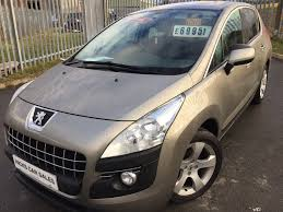 used peugeot 3008 2010 for sale motors co uk